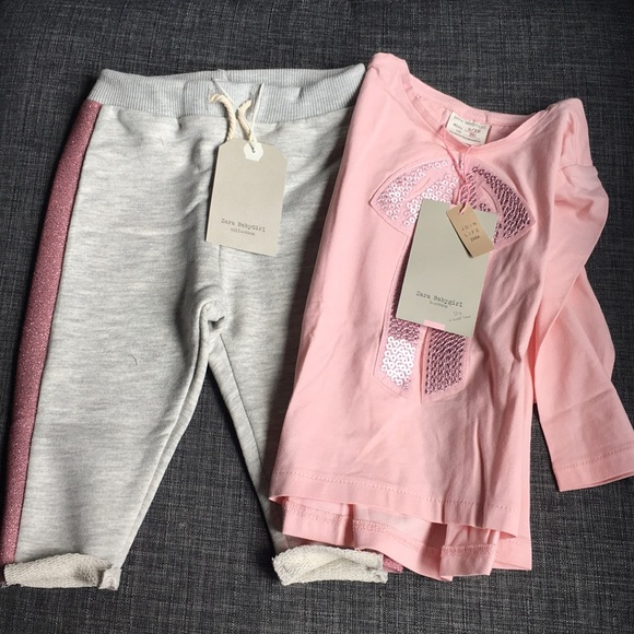 8c1060c4 Zara Matching Sets | Baby Girl Pant And Shirt Set | Poshmark